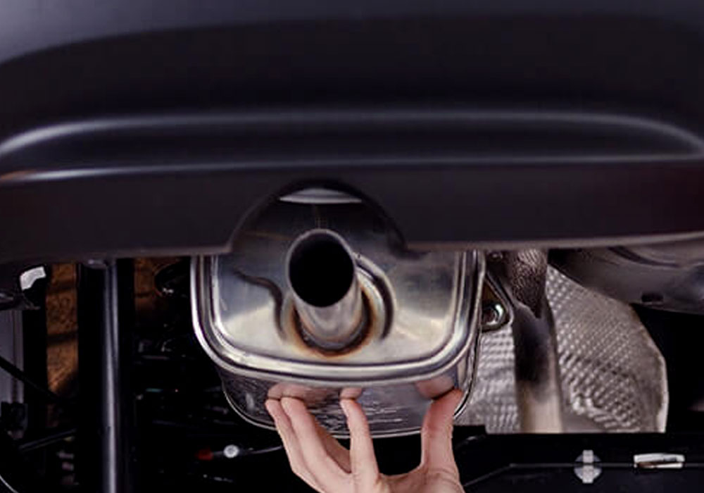 exhaust repair image